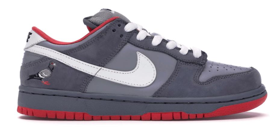 A Jeff Staple féle Air Jordan Nike tornacipő, ami mindössze 200 példányban jelent meg.